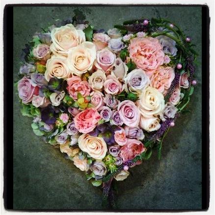 hjärta pastell