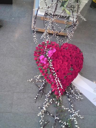 hjärta till begravning